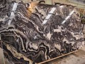 Gold&Black Sedat cross cut slab